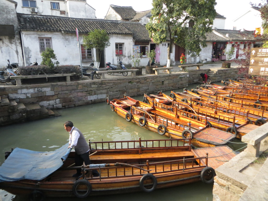 20121103 Tongli - Boat Ride