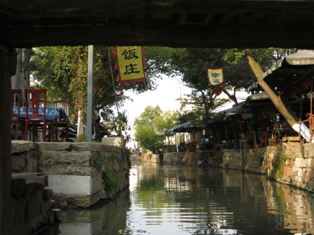 20121103 Tongli - View from the canal